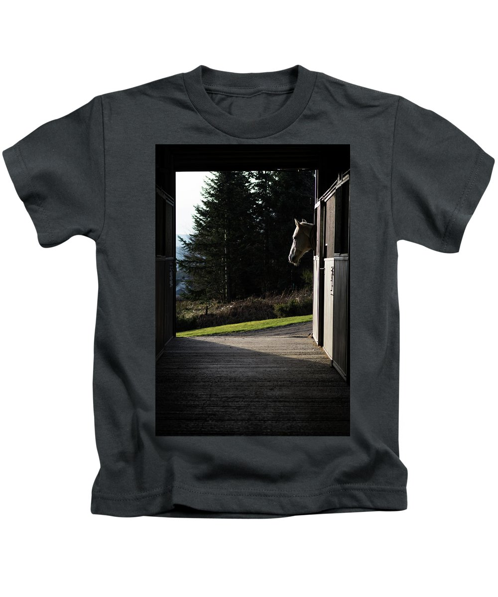 Adult Kids T-Shirt featuring the digital art Last Light by Gary Ellis