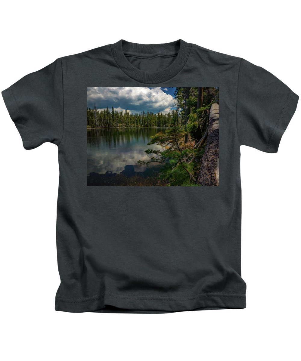 Beautiful Kids T-Shirt featuring the photograph Lazy Daze Eleanor by Michele James
