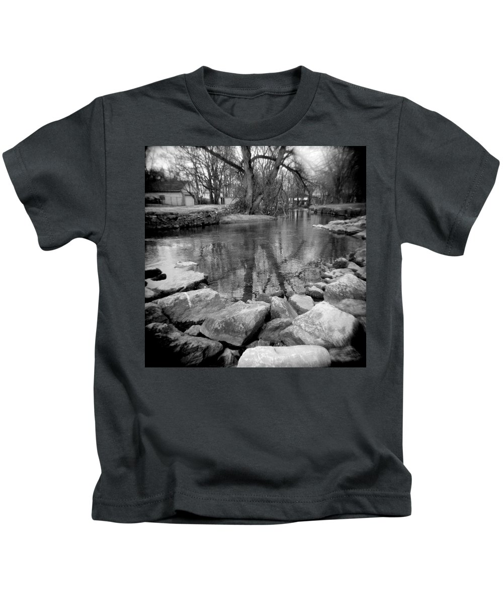 Photograph Kids T-Shirt featuring the photograph Le Tort Reflection by Jean Macaluso