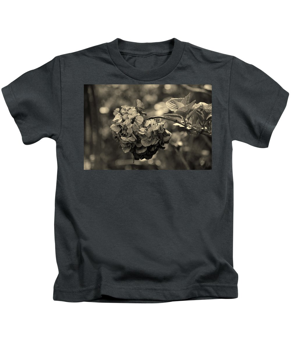 Life And Death Kids T-Shirt featuring the photograph Life And Death by Susanne Van Hulst