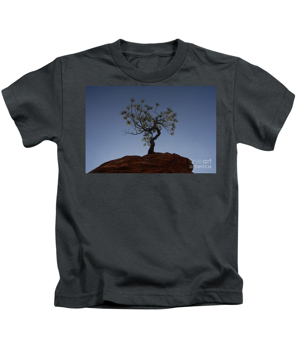 Tree Kids T-Shirt featuring the photograph Life Force by David Lee Thompson