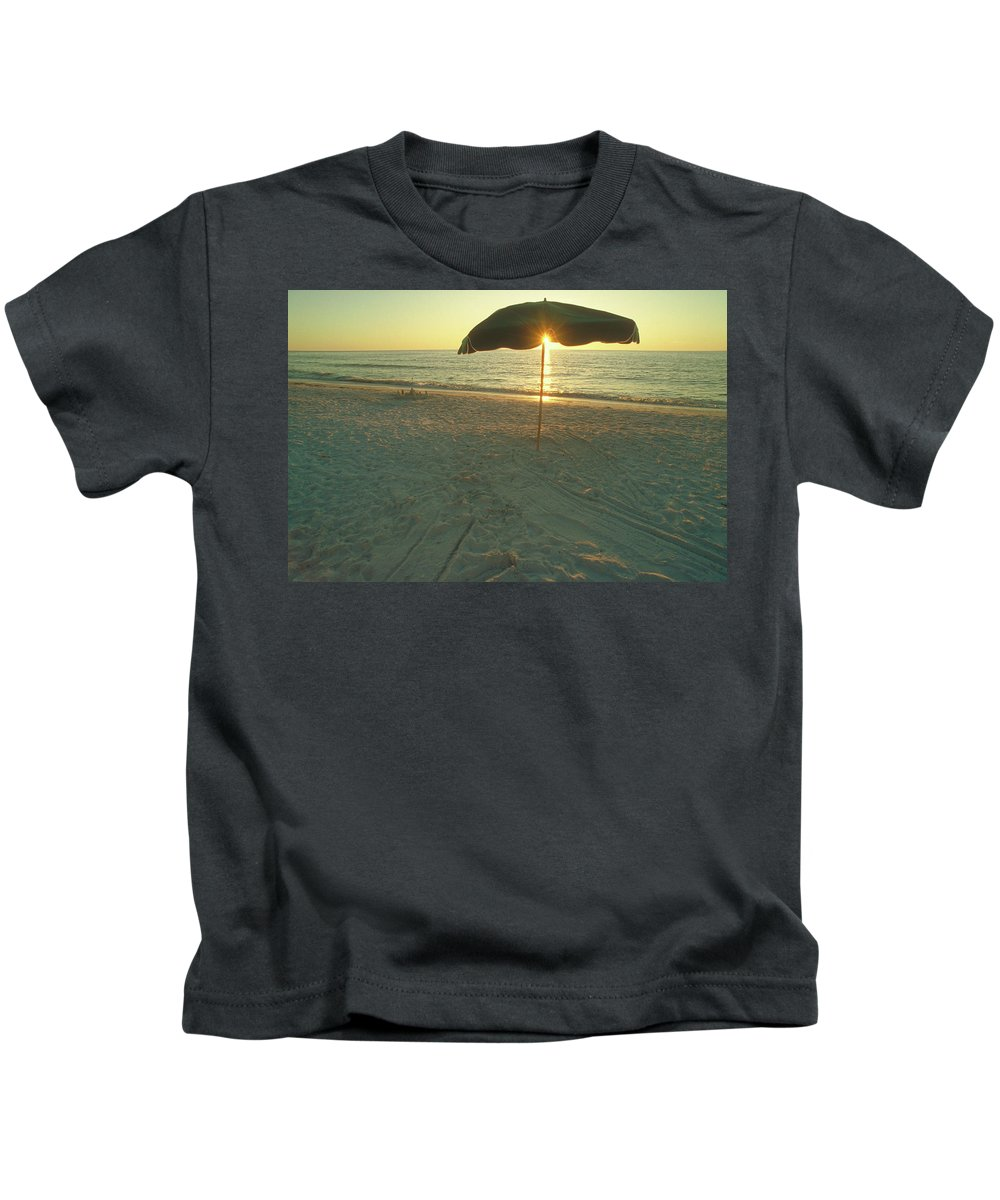 Hawaii Kids T-Shirt featuring the photograph Life's A Beach by Jerry McElroy