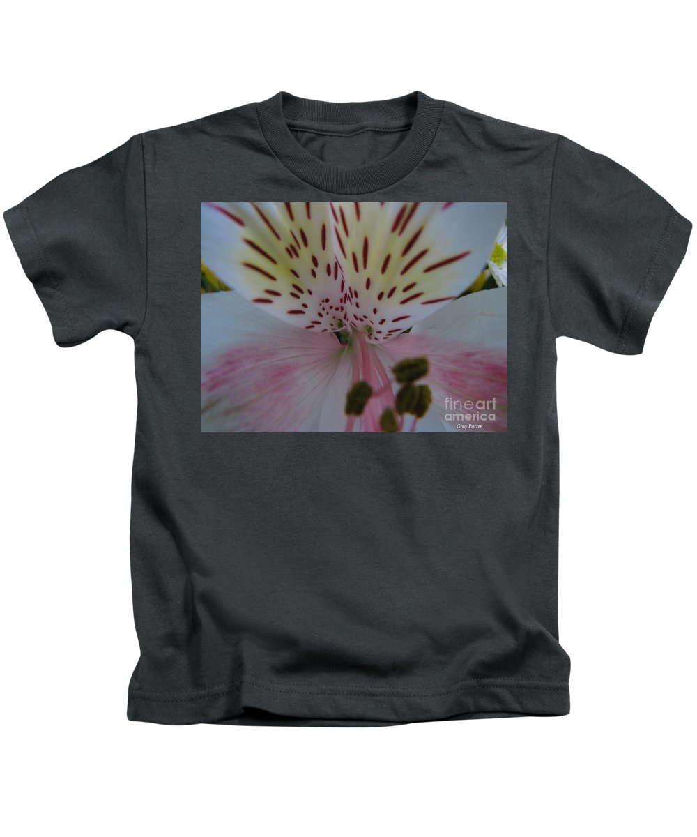 Patzer Kids T-Shirt featuring the photograph Lily by Greg Patzer