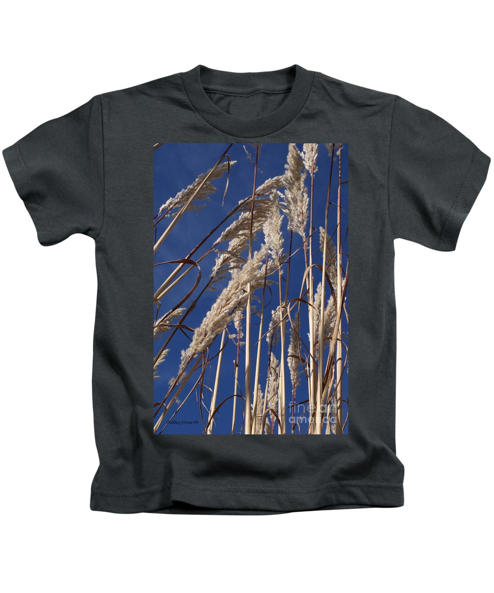 Photography Kids T-Shirt featuring the photograph Line And Loop by Shelley Jones
