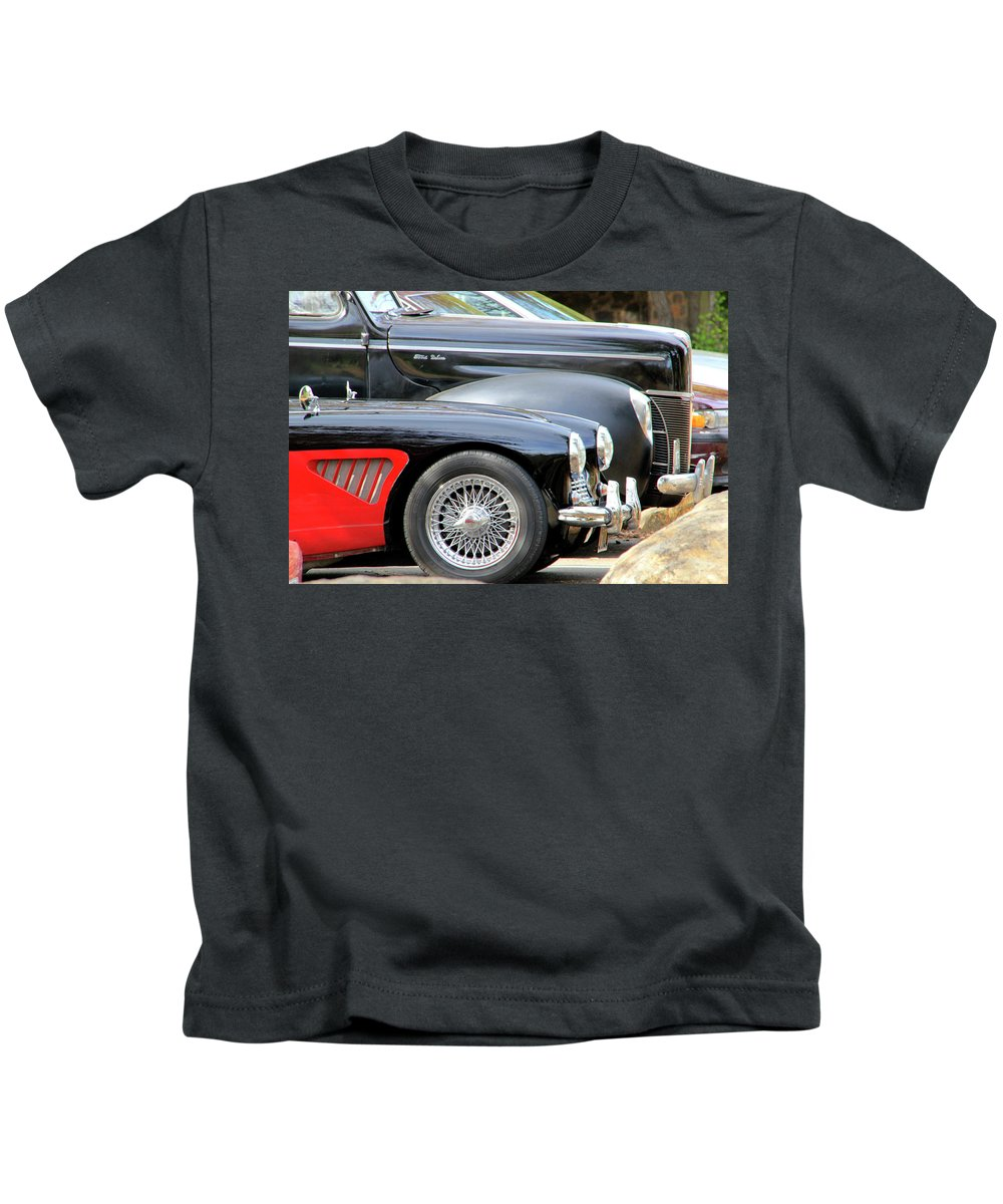 Restored Kids T-Shirt featuring the photograph Little And Big by Pauline Darrow