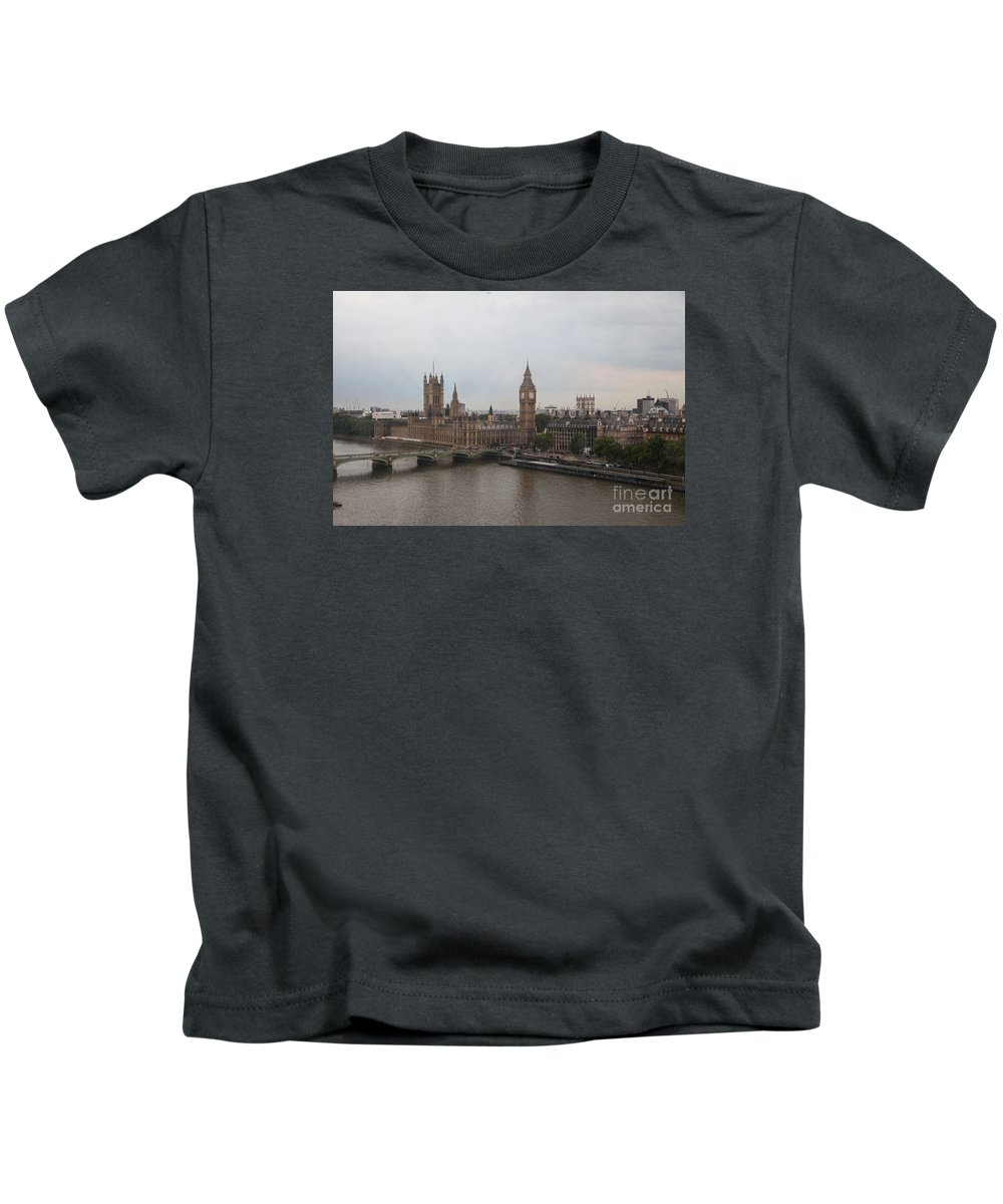 Big Ben Kids T-Shirt featuring the photograph London Icons by Timothy Johnson
