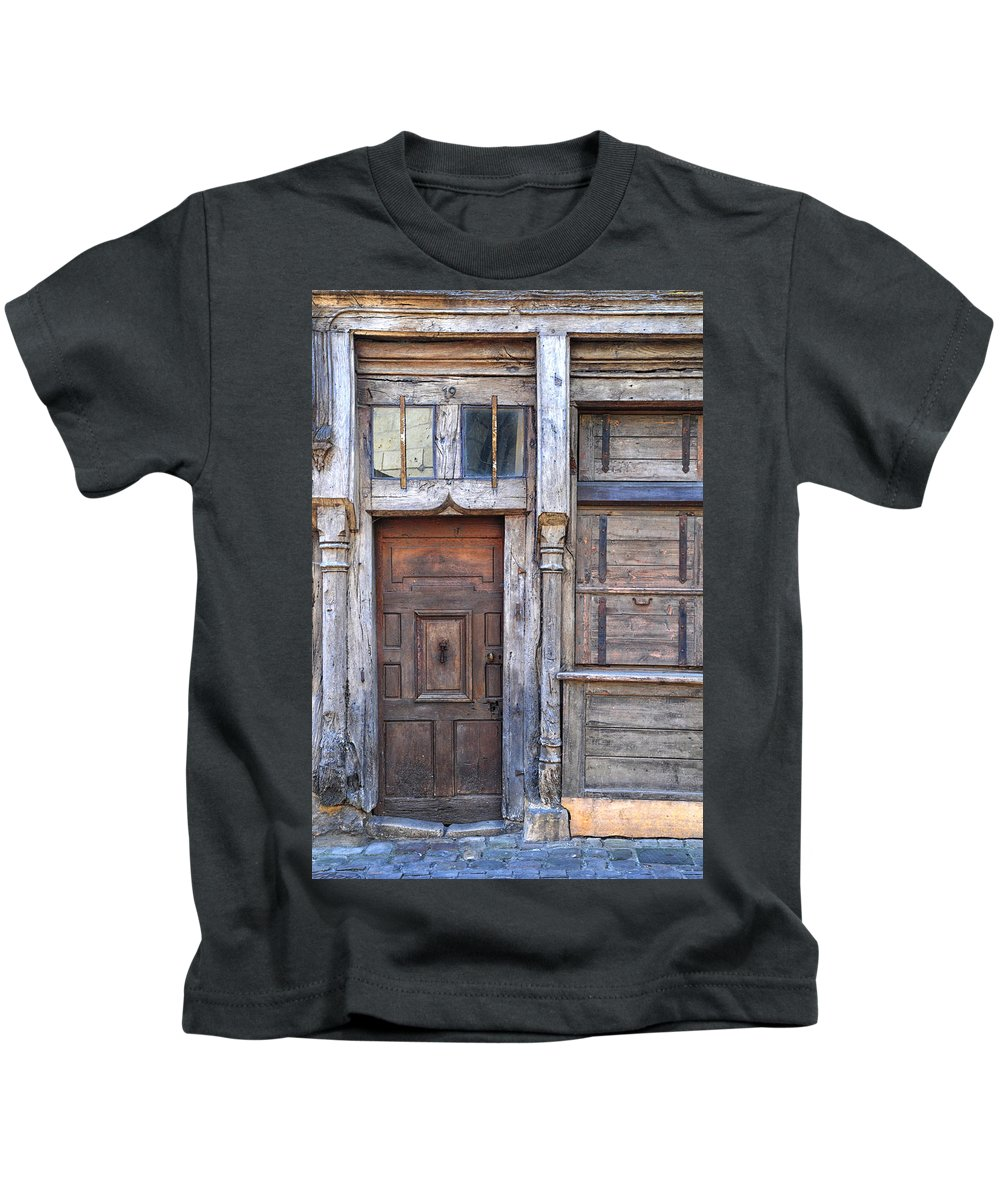 Door Kids T-Shirt featuring the photograph Long Past It's Time by Dave Mills