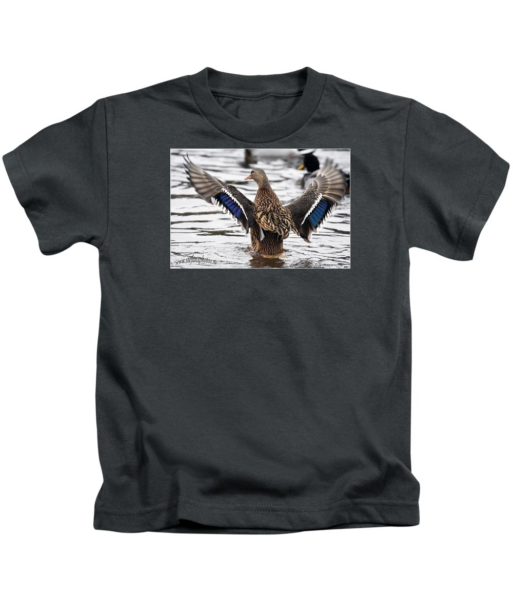 Kids T-Shirt featuring the photograph Looking At Me by Stefan Pettersson