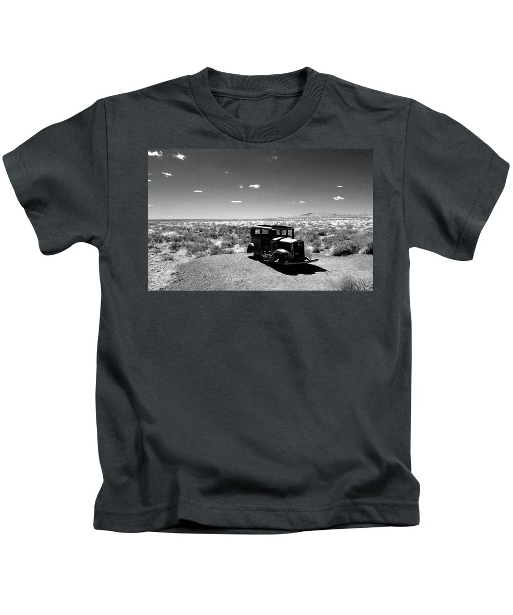 Car Kids T-Shirt featuring the photograph Lost by Janine Nelson