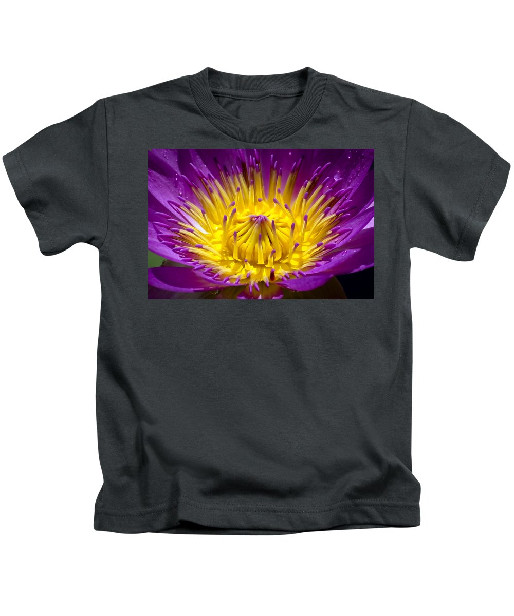 Aquatic Kids T-Shirt featuring the photograph Lotus 12 by Jijo George