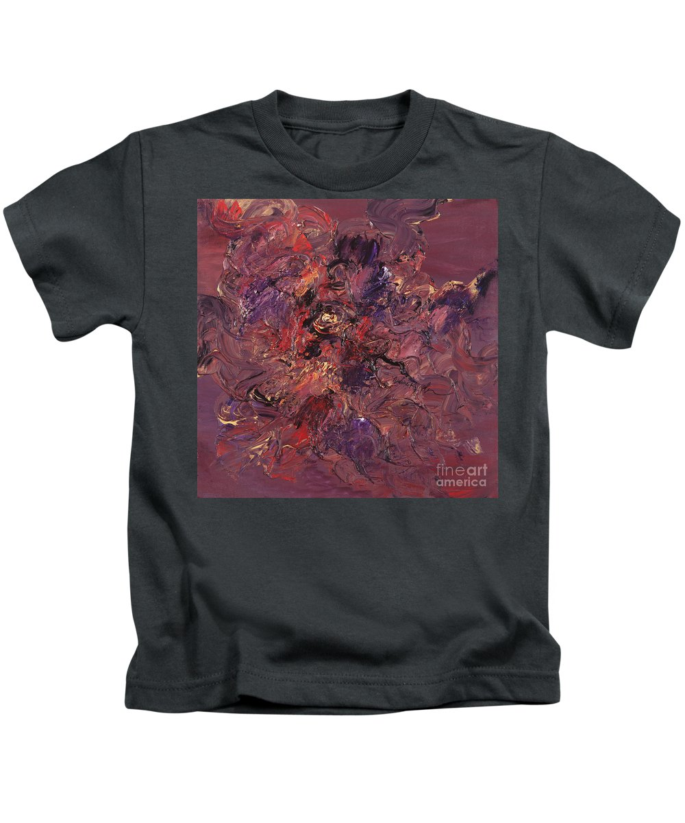 Love Kids T-Shirt featuring the painting Love by Nadine Rippelmeyer