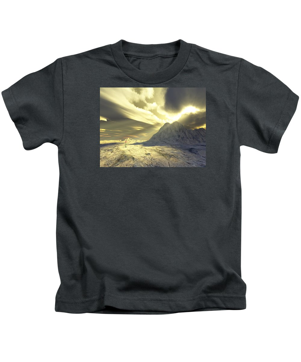 Loved Kids T-Shirt featuring the digital art Loved - Never Forgotten by Jennifer Kathleen Phillips