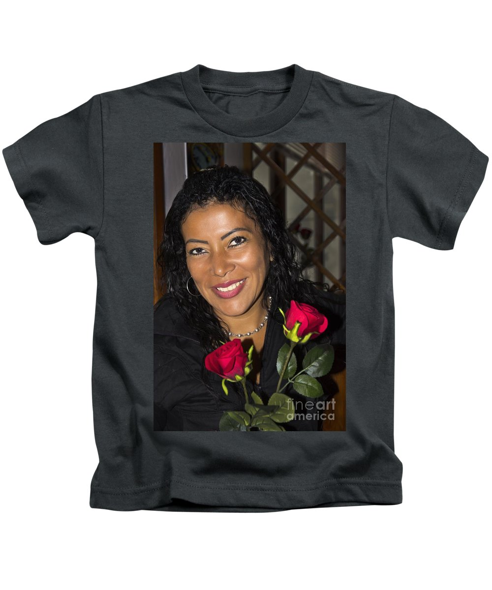 Cris Kids T-Shirt featuring the photograph Lovely Lady 42 by Al Bourassa