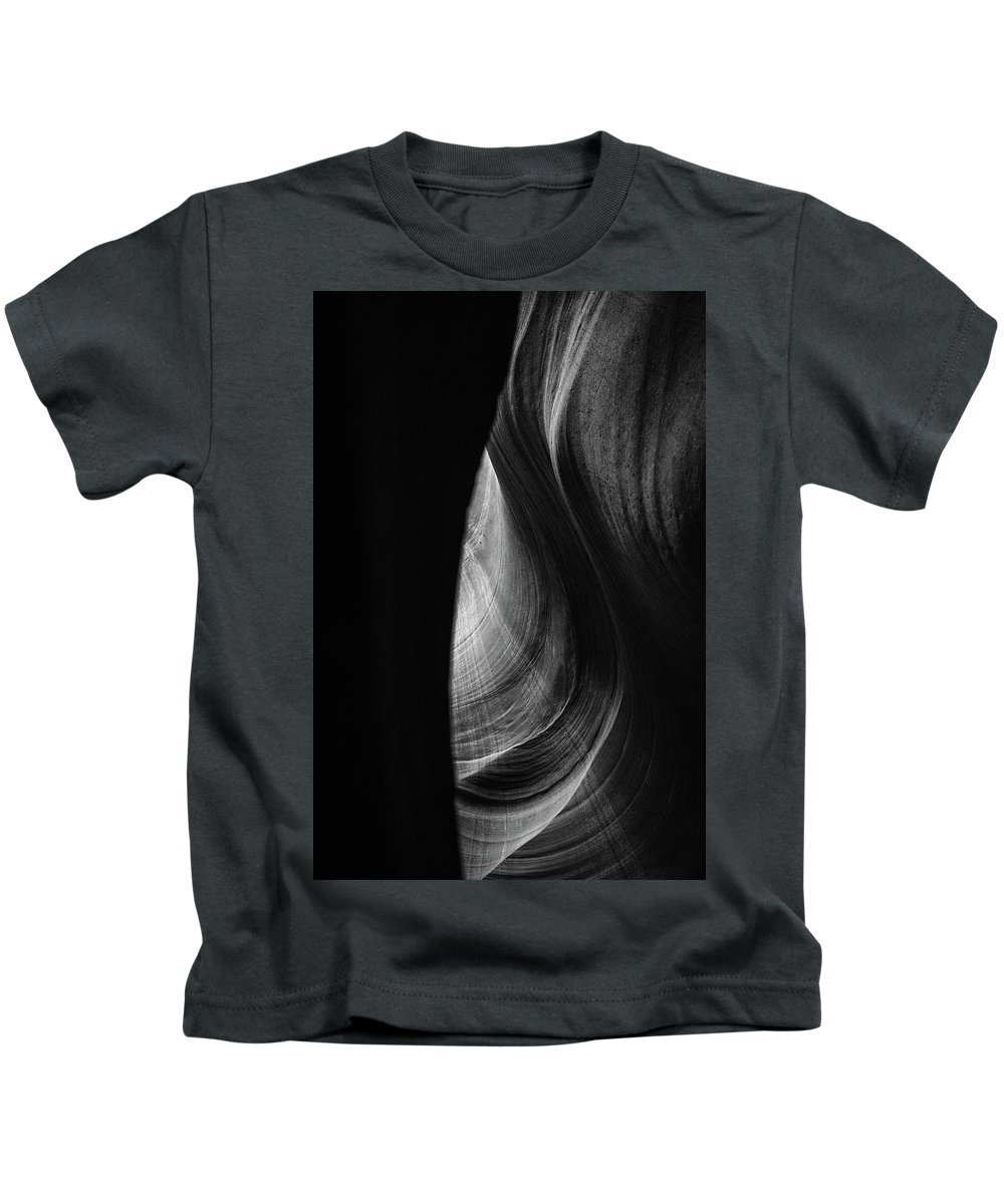 Antelope Canyon Kids T-Shirt featuring the photograph Lower Antelope Canyon by Alex Conu