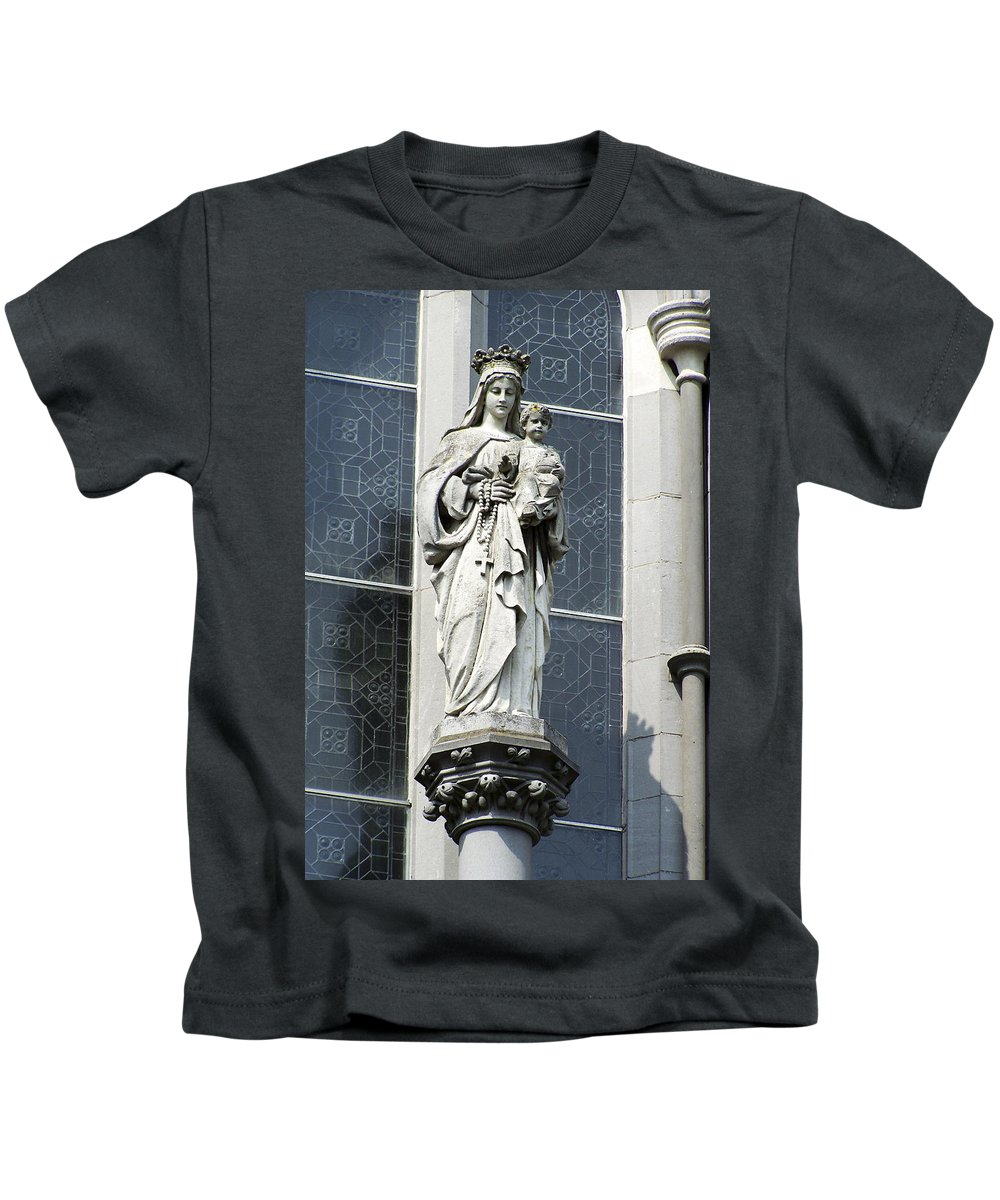 Ireland Kids T-Shirt featuring the photograph Madonna And Child by Teresa Mucha
