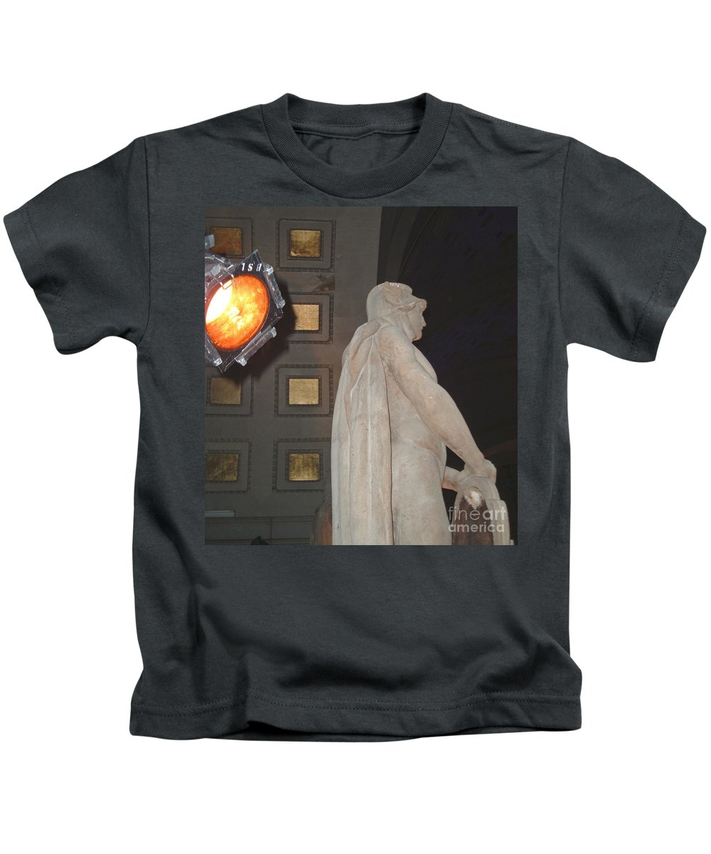 Union Kids T-Shirt featuring the photograph Man Of Union by Jost Houk