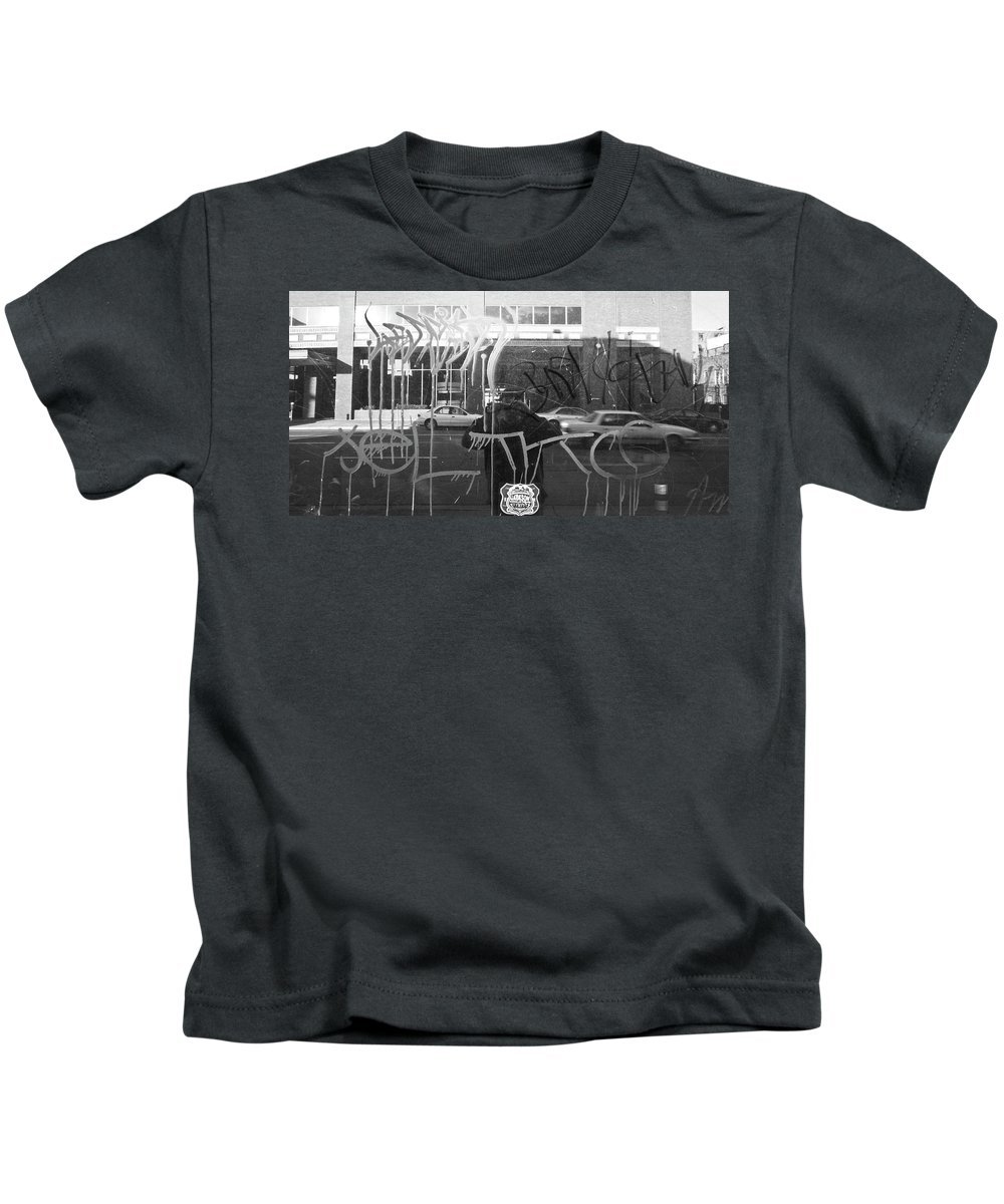Window Kids T-Shirt featuring the photograph Many Layers by Angus Hooper Iii