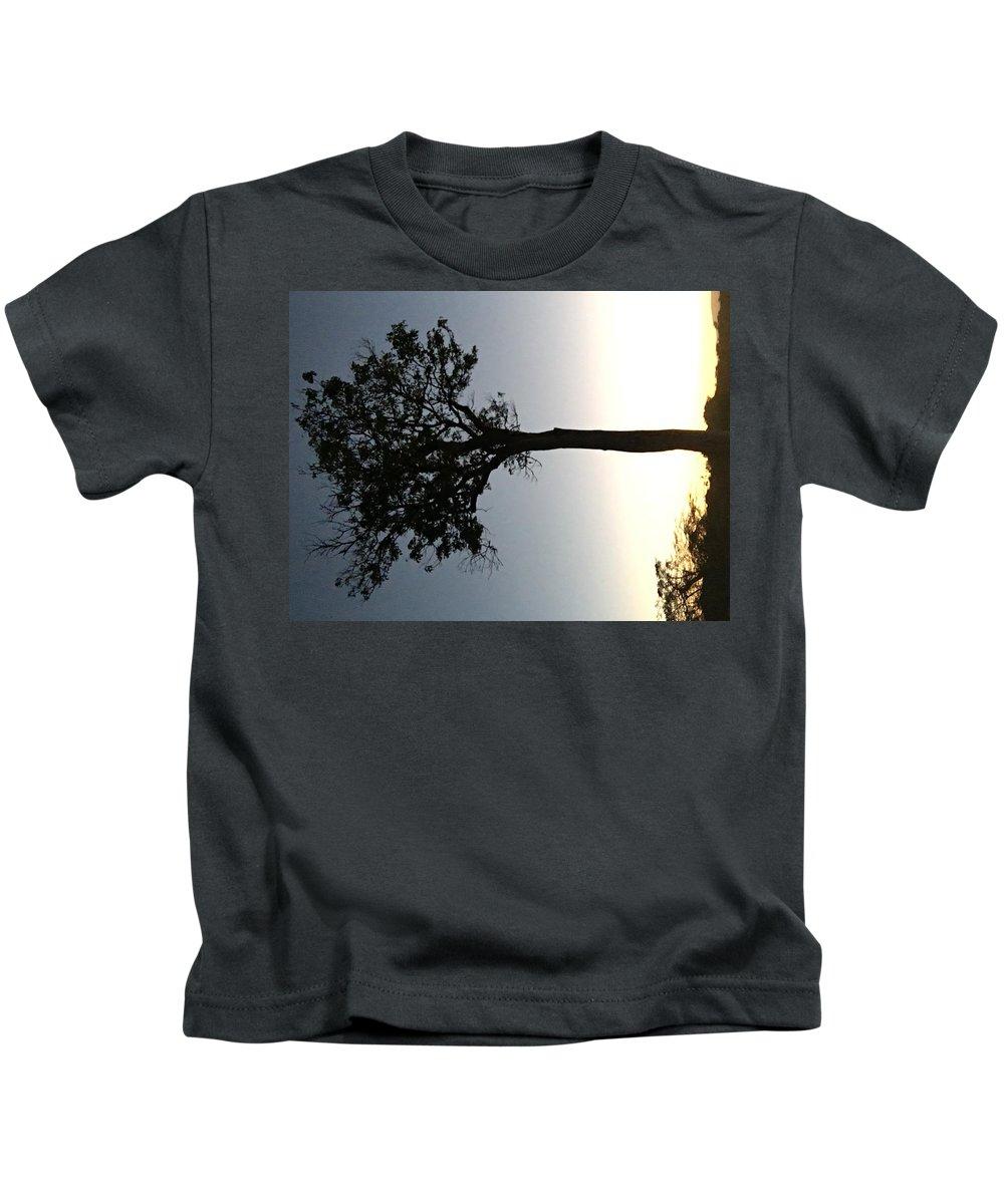 Sunet Kids T-Shirt featuring the photograph Mara Sunset by Assen Photography