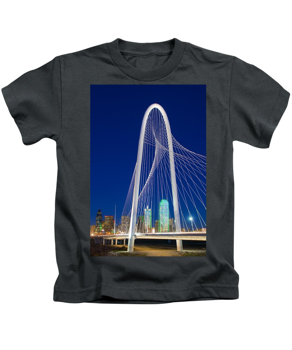 Rospotte Kids T-Shirt featuring the photograph Margaret In Dallas Blue by Rospotte Photography