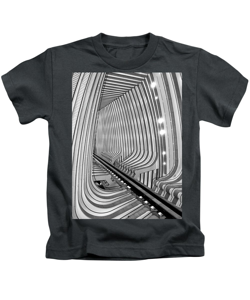 Architecture Kids T-Shirt featuring the photograph Marquis by Dick Goodman