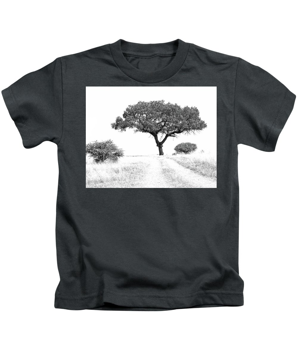 Tree Kids T-Shirt featuring the photograph Marula Tree by Suzanne Morshead