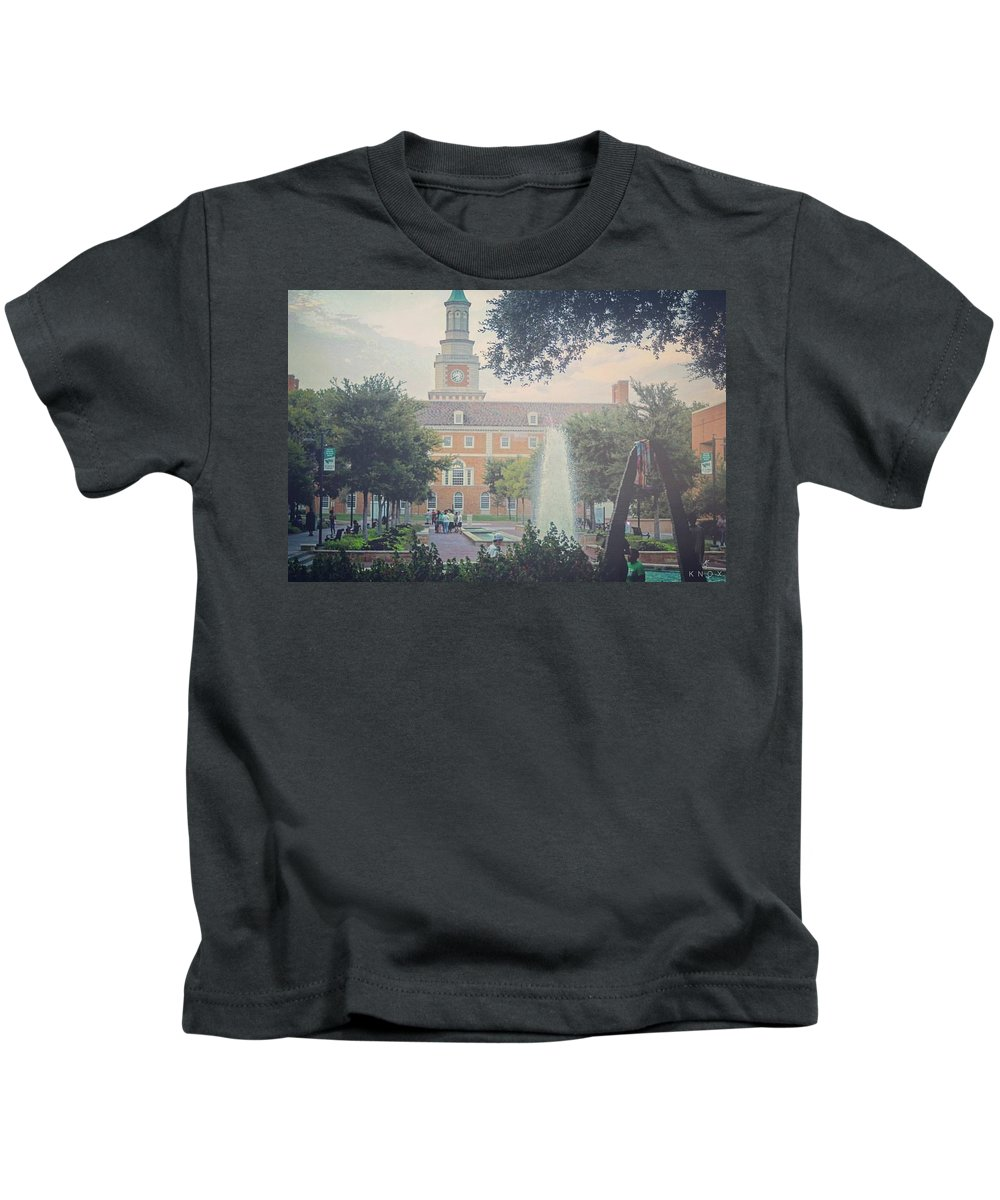Landscape Kids T-Shirt featuring the photograph Mean Green by KG Thompson