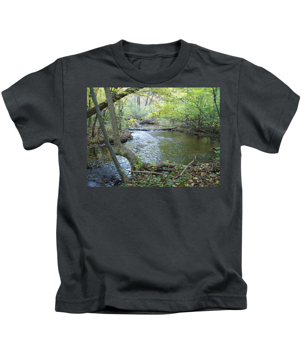 Tmad Kids T-Shirt featuring the photograph Mejestic Dreams by Michael TMAD Finney