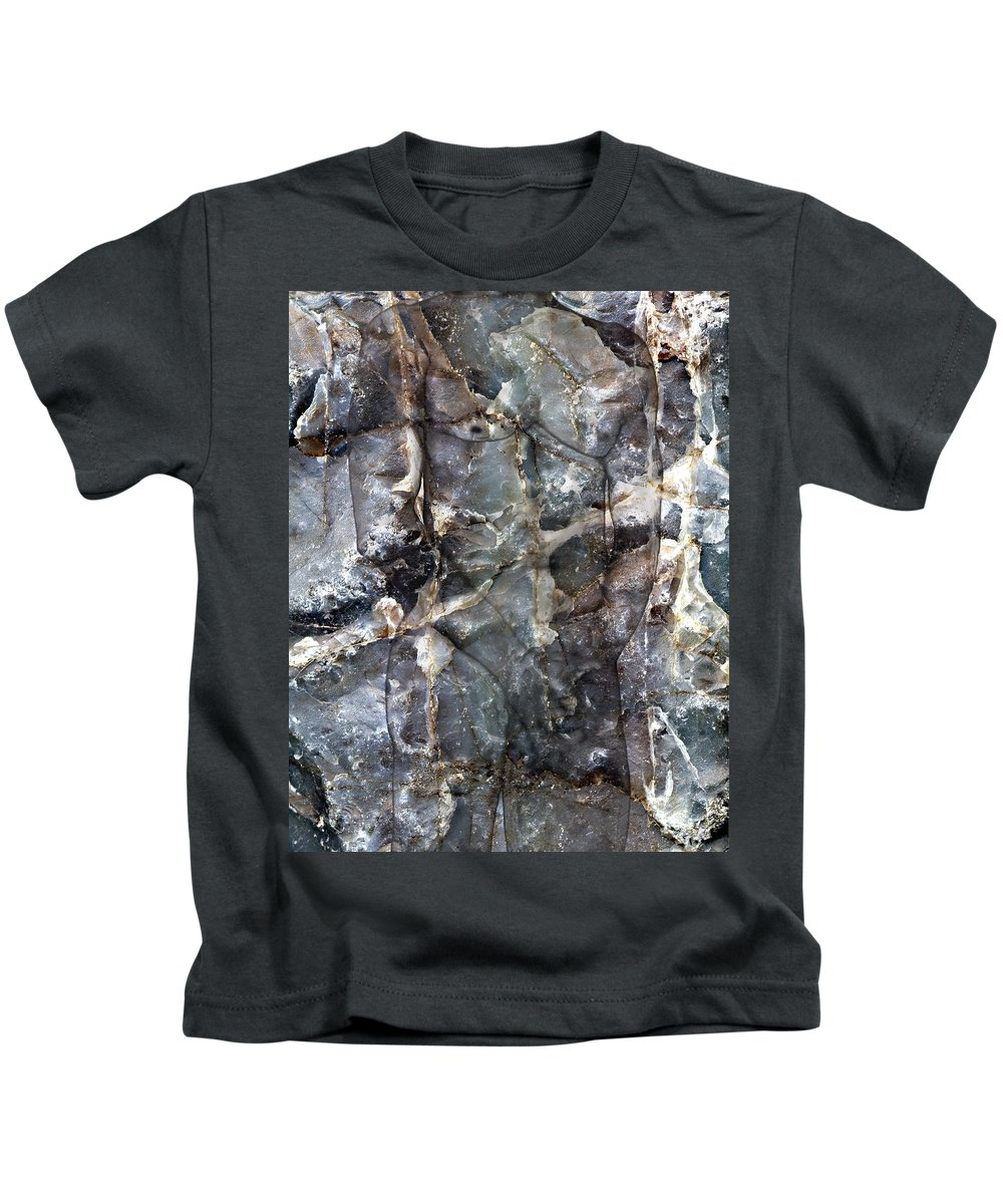 Nudes Kids T-Shirt featuring the photograph Metamorphosis Male by Kurt Van Wagner