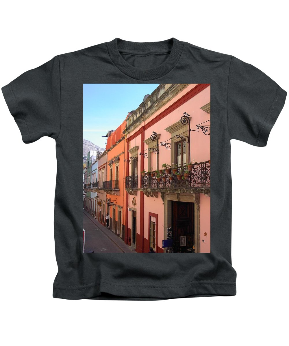 Charity Kids T-Shirt featuring the photograph Mexico by Mary-Lee Sanders