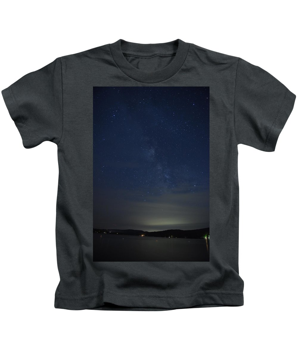 New England Kids T-Shirt featuring the photograph Milkyway #2 by Susan Russo