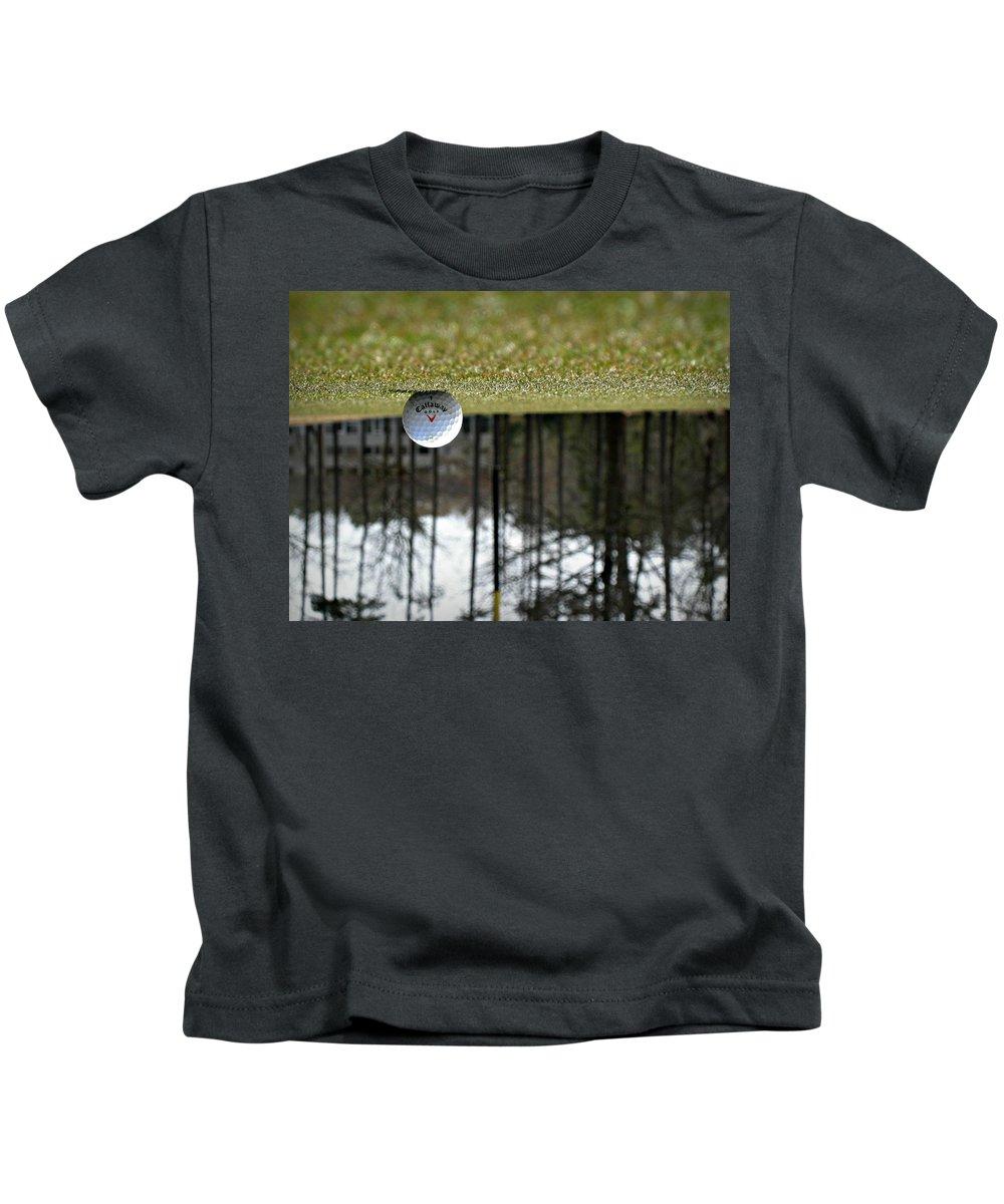 Golf Kids T-Shirt featuring the photograph Mind Games by Kurt Keller