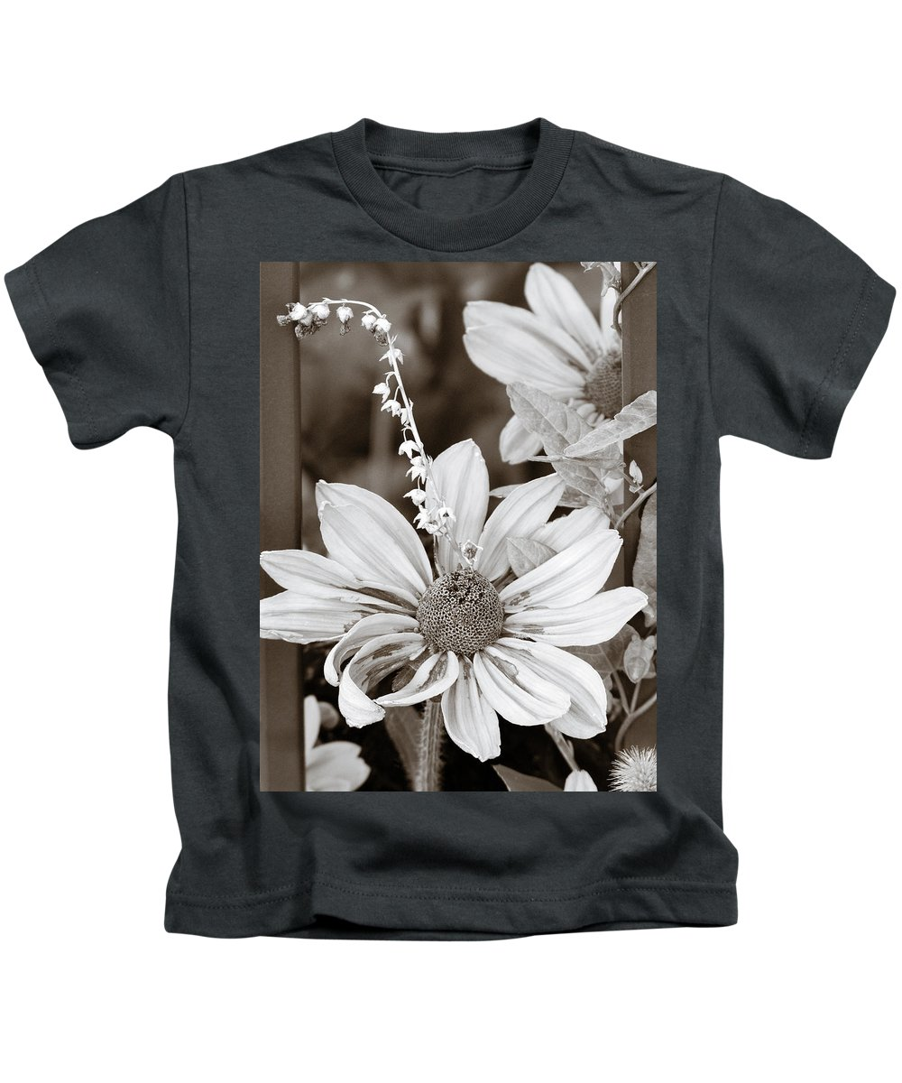 Flowers Kids T-Shirt featuring the photograph Mixed Flowers by Marilyn Hunt