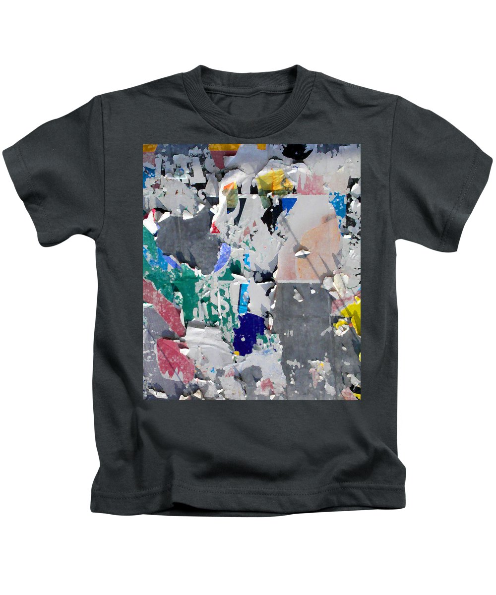 Abstract Kids T-Shirt featuring the photograph Money Sign by Anne Cameron Cutri