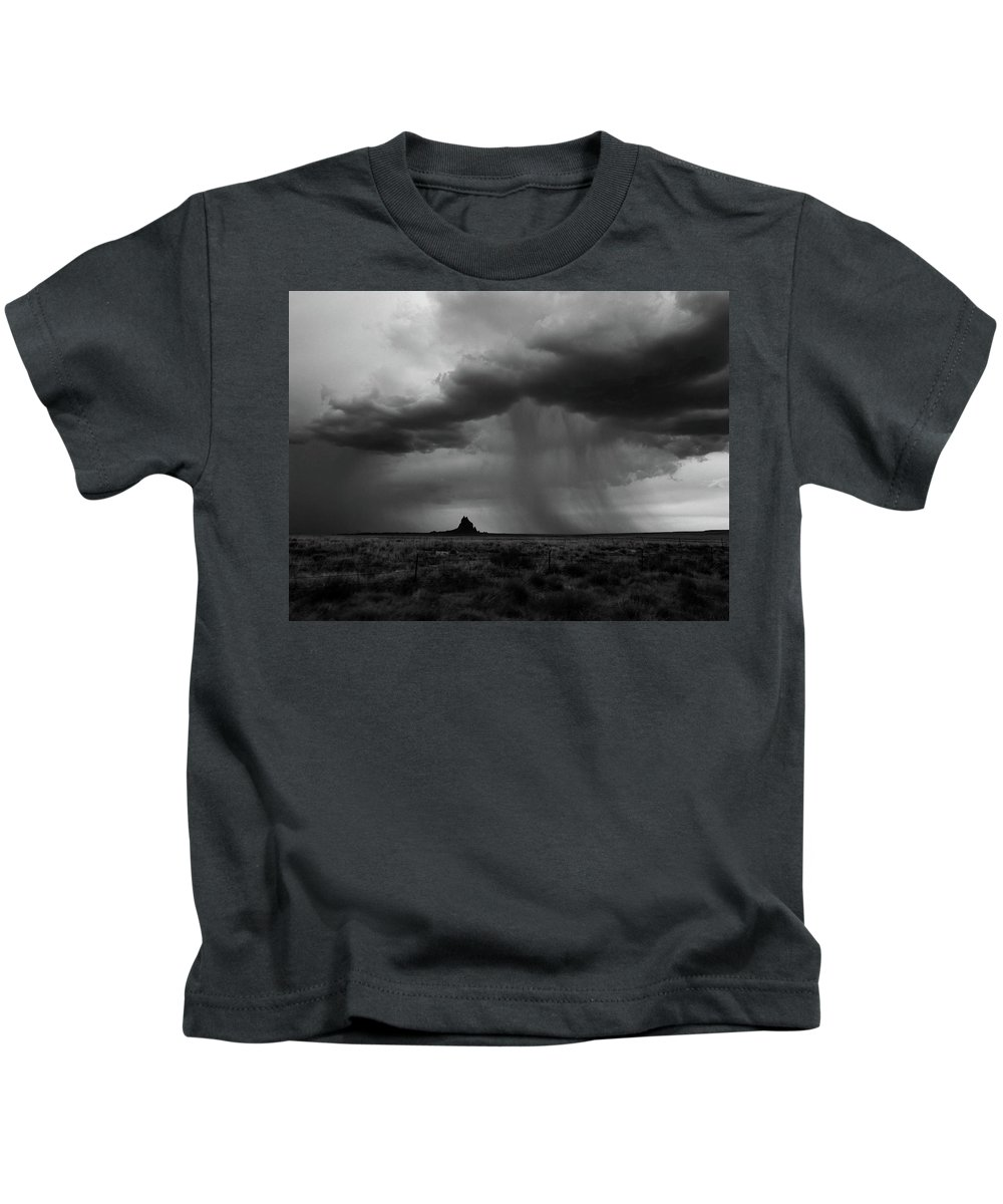 Monsoon Kids T-Shirt featuring the photograph Monsoon by Erin Donalson