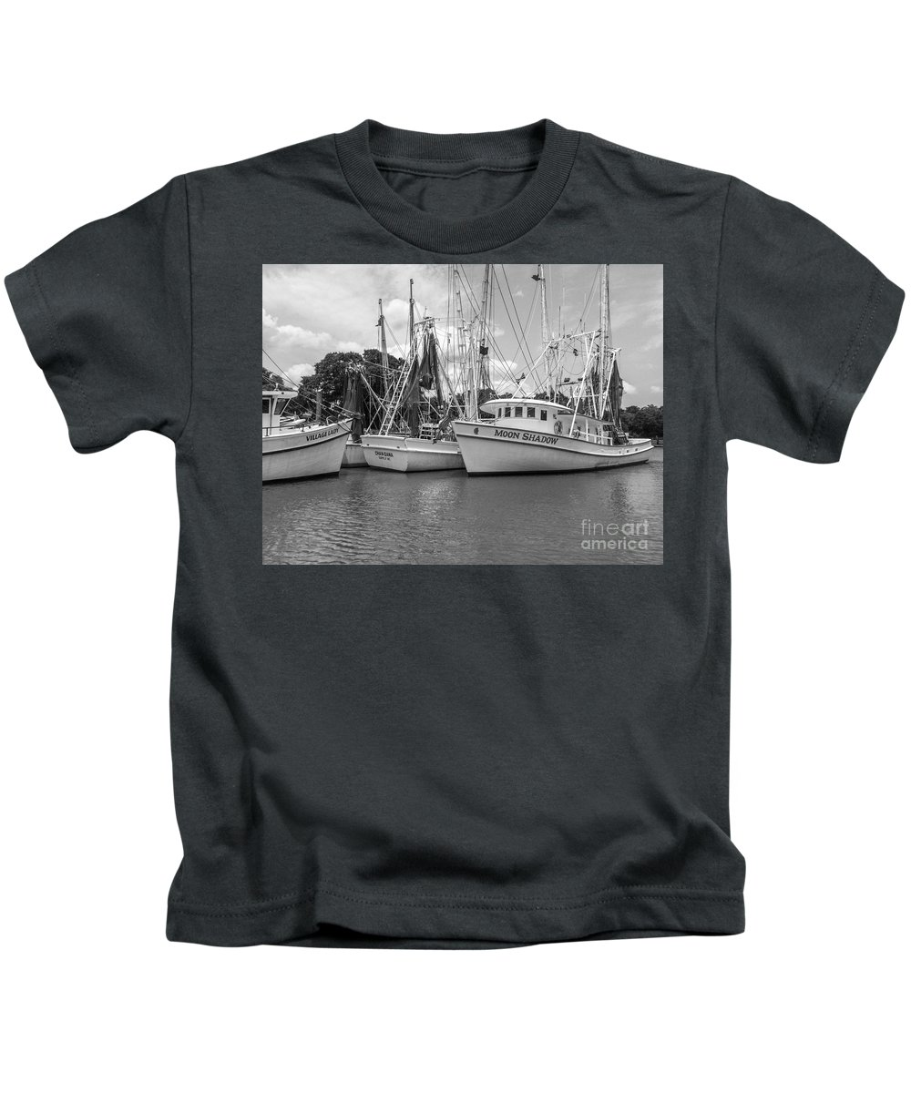 Moon Shadow Kids T-Shirt featuring the photograph Moon Shadow by Dale Powell