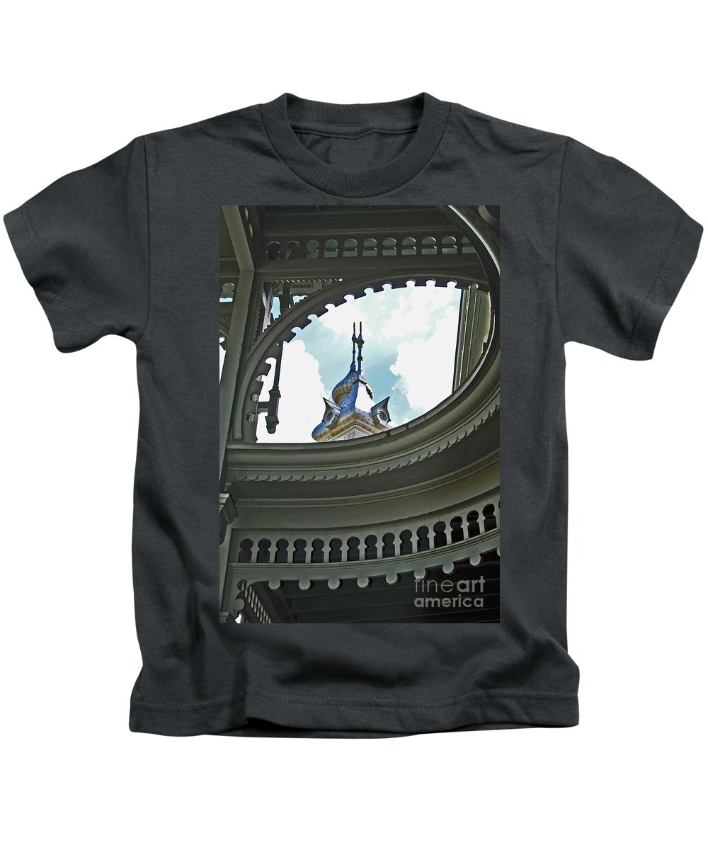 University Of Tampa Kids T-Shirt featuring the photograph Moorish Gingerbread by Jost Houk