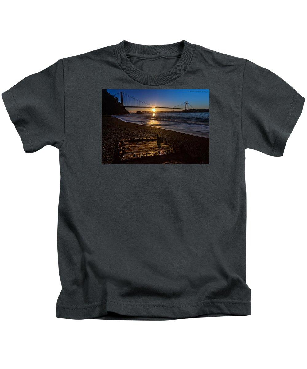 Sunrise Kids T-Shirt featuring the photograph Morning Bliss by Mukunda Kesari