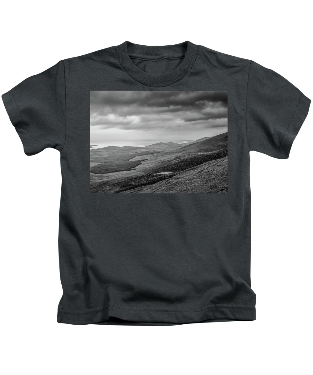 Black And White Kids T-Shirt featuring the photograph Morning Bw #c2 by Leif Sohlman