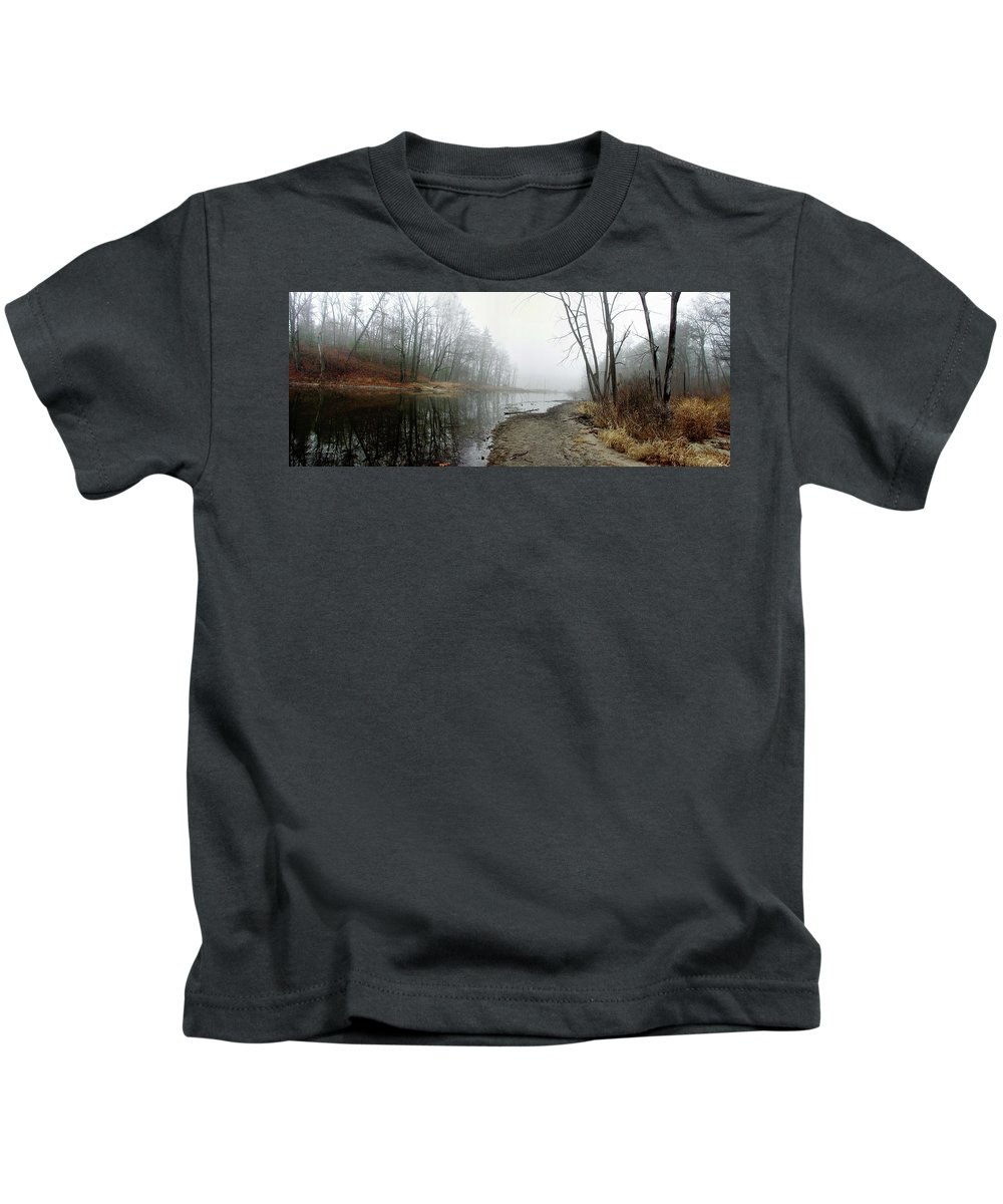 Color Kids T-Shirt featuring the photograph Morning Calm by Frederic A Reinecke