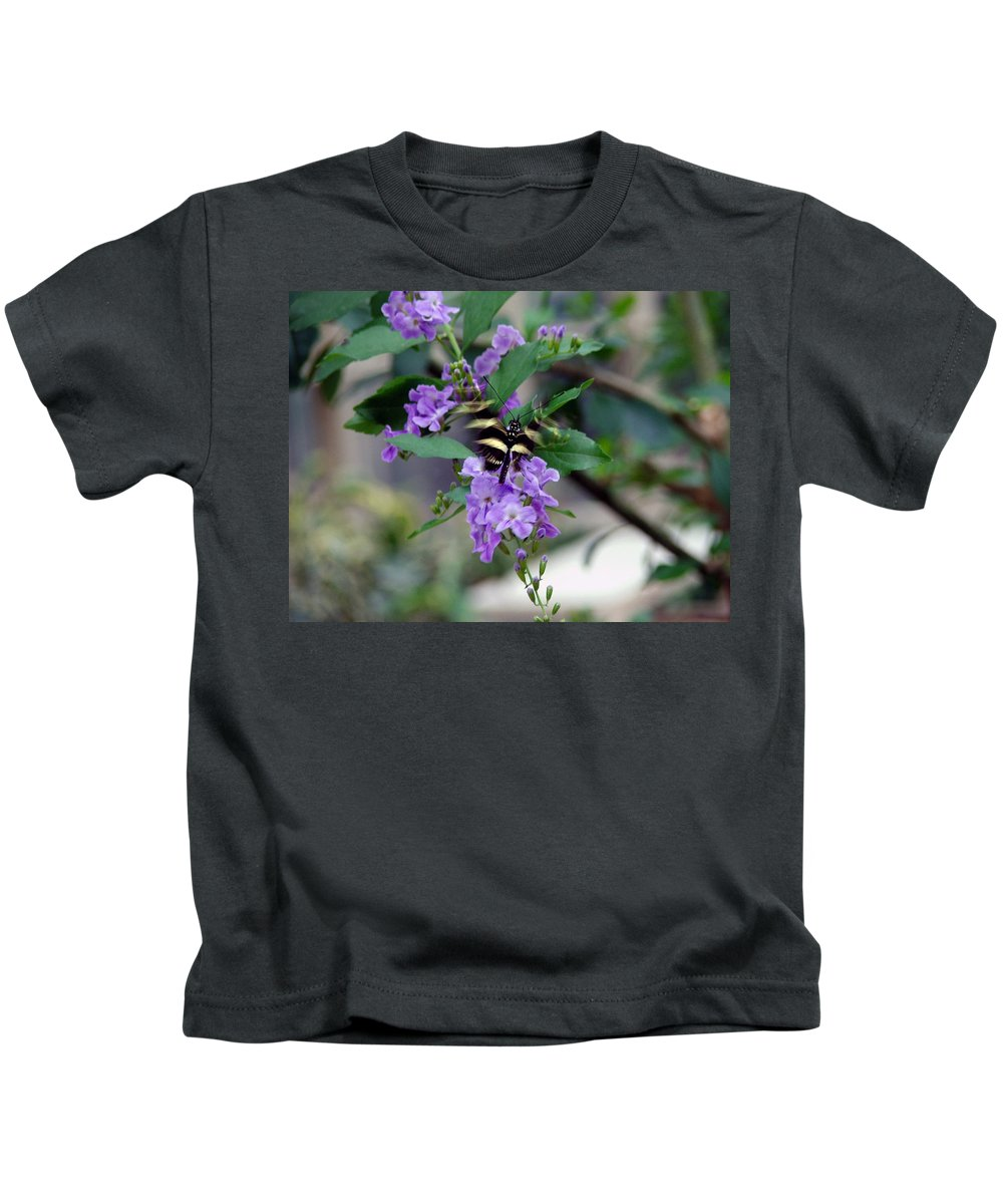 Butterfly Kids T-Shirt featuring the photograph Motion by Robert Meanor