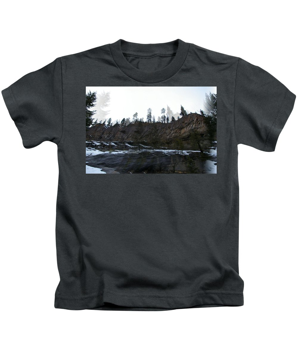 Ridelines Kids T-Shirt featuring the photograph Mountain Dreaming by Jeff Swan