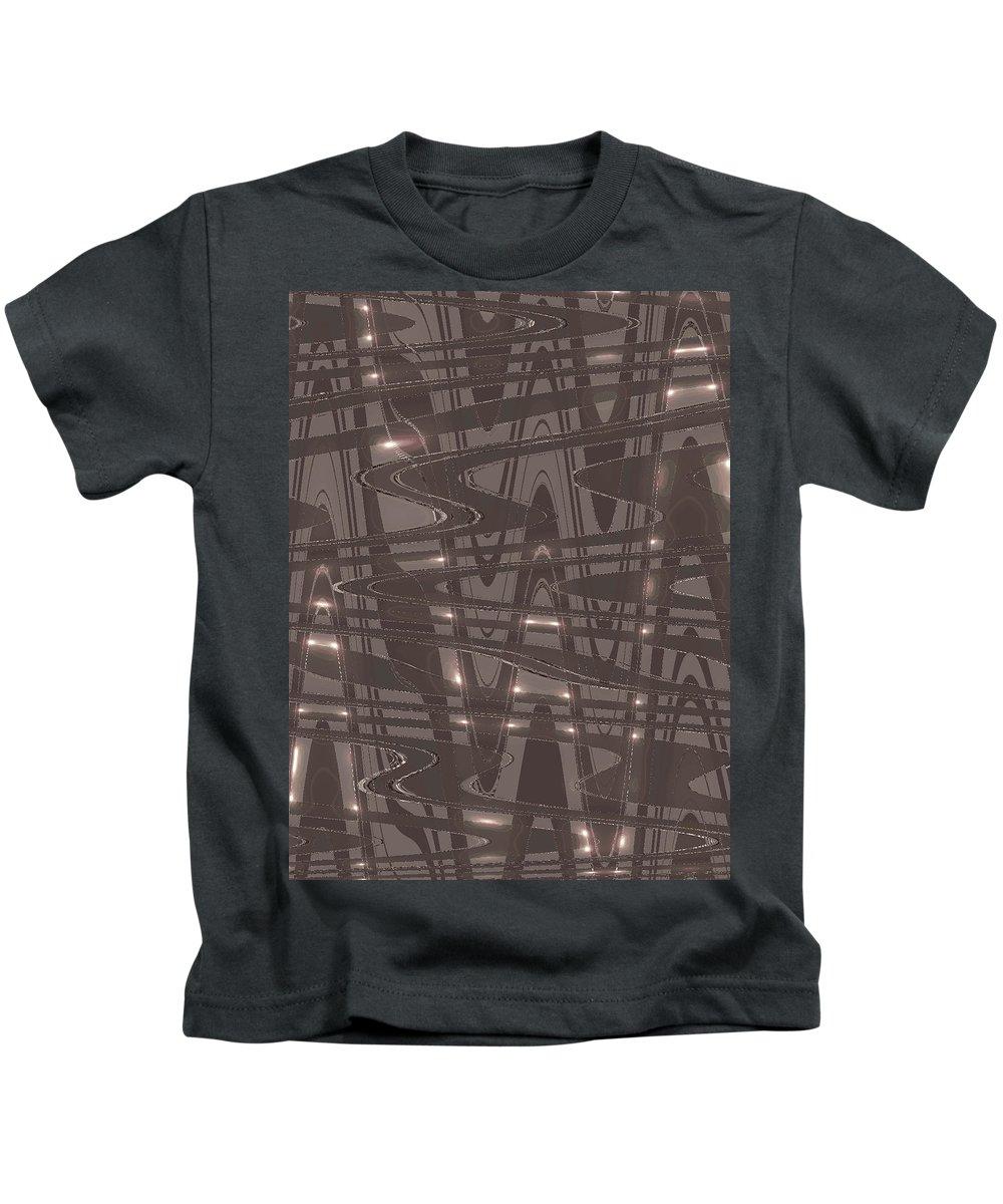 Moveonart! Global Gathering. Jacob Kanduch Kids T-Shirt featuring the digital art Moveonart Future Lights by Jacob Kanduch