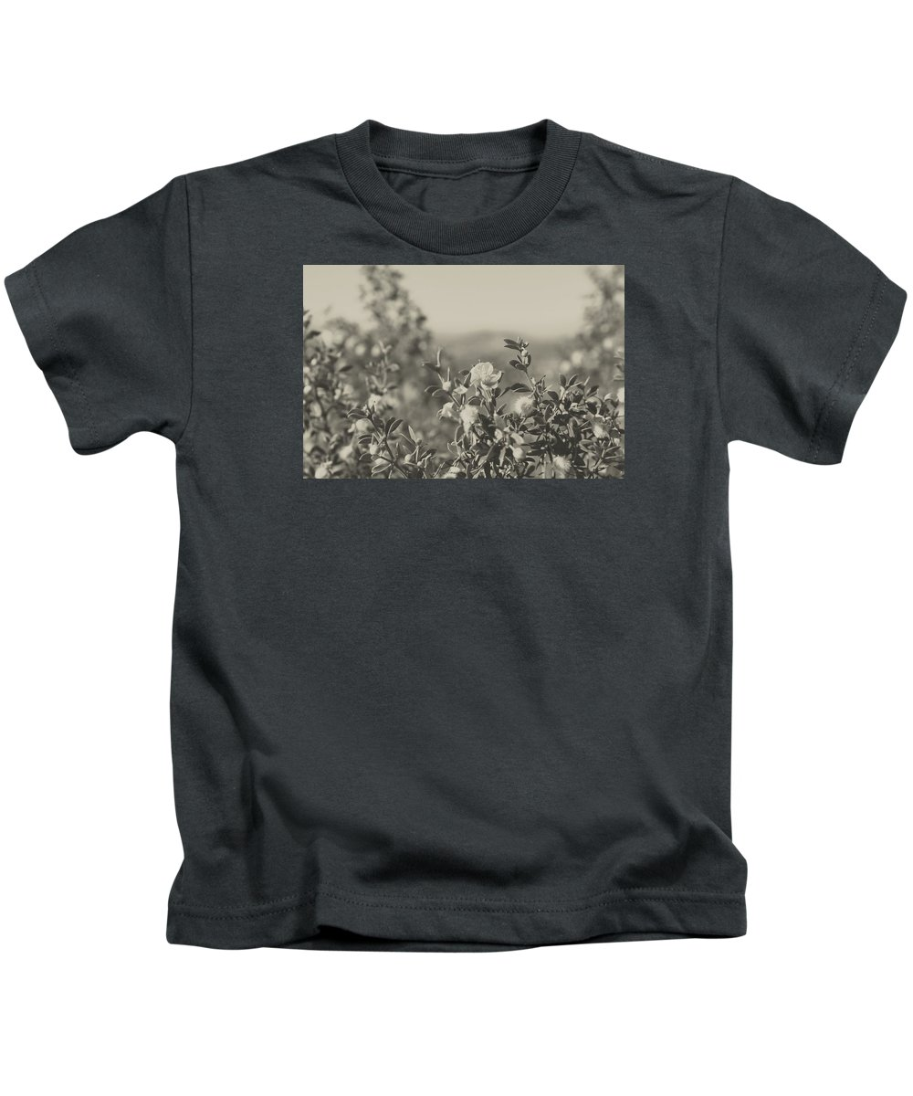 Nature Kids T-Shirt featuring the photograph Muted Beauty 2 by Sarah Jane Thompson