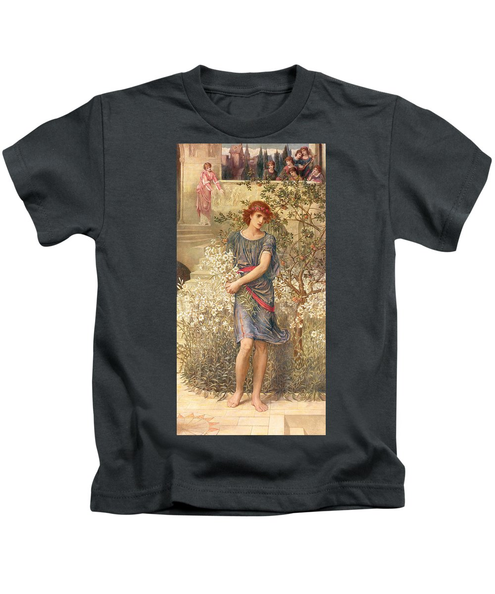 My Son Paintings Kids T-Shirts