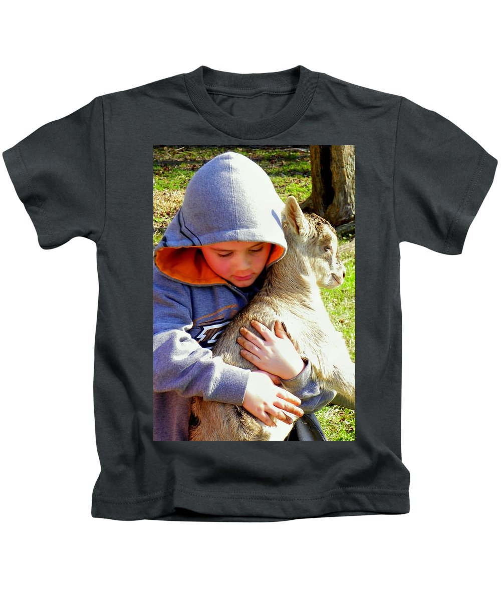 Children Kids T-Shirt featuring the photograph My Very Own by Karen Wiles