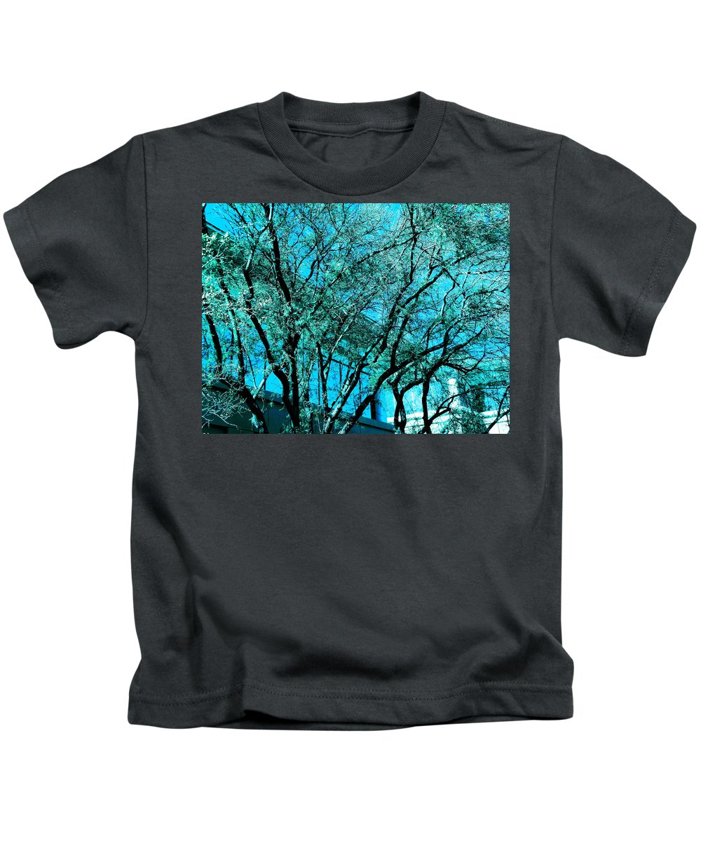 Tree Kids T-Shirt featuring the photograph Mysterious Tree by Sarah Scherf