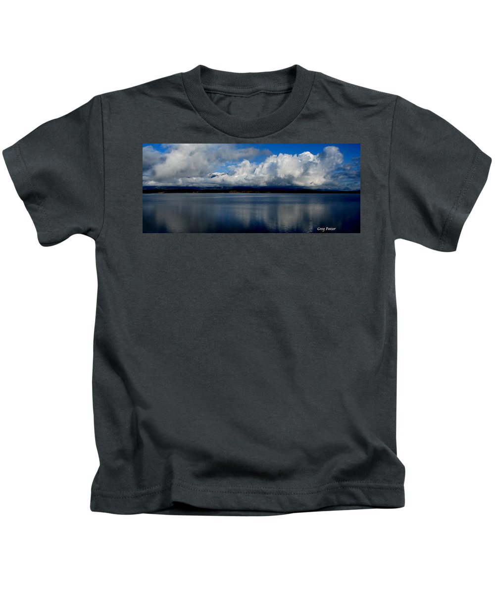 Patzer Kids T-Shirt featuring the photograph Mystic by Greg Patzer
