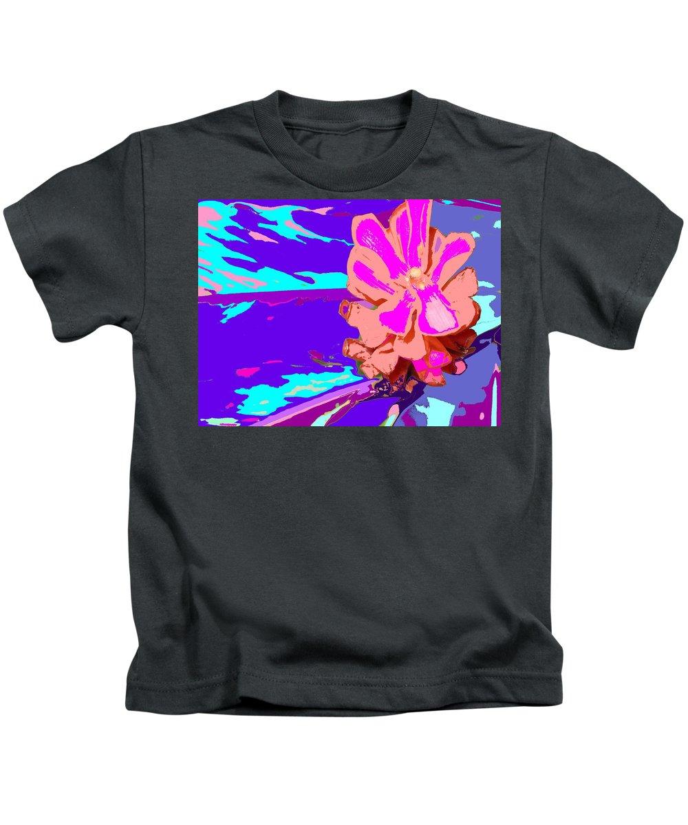 Flower Kids T-Shirt featuring the photograph Mystical Flower by Ian MacDonald