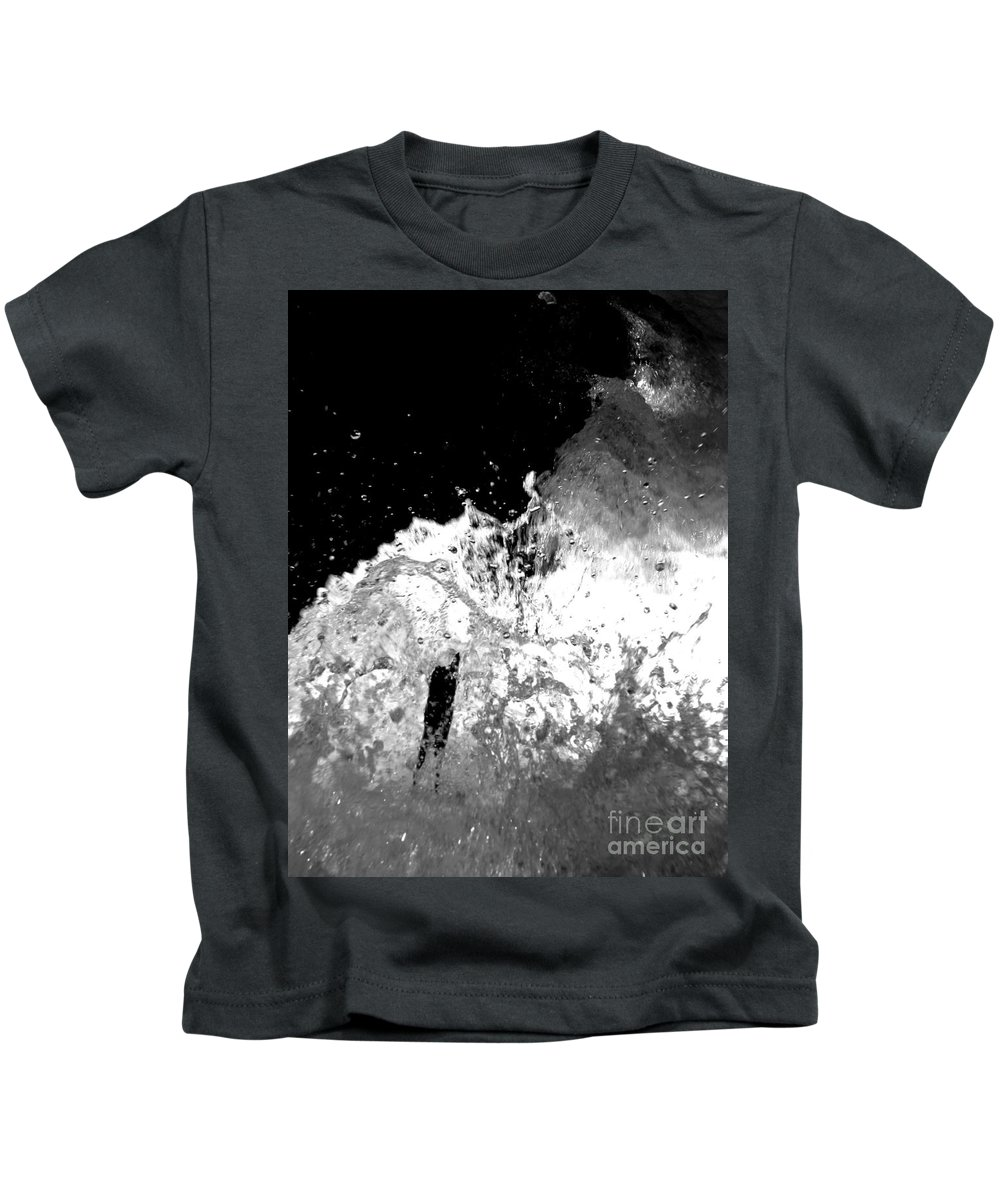Water Kids T-Shirt featuring the photograph Natural Power by Amanda Barcon