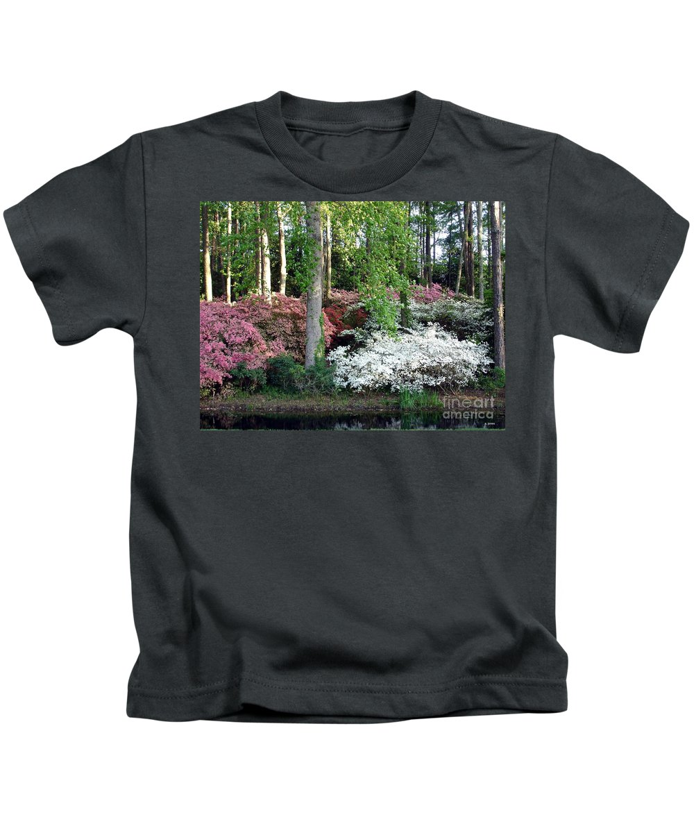 Landscape Kids T-Shirt featuring the photograph Nature 2 by Shelley Jones